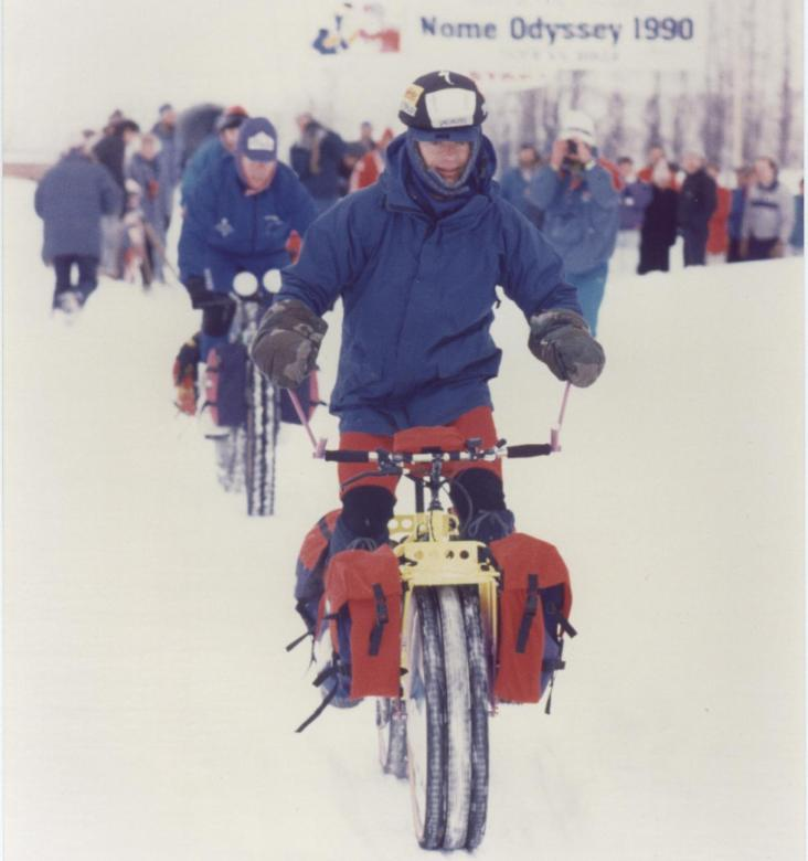 ride to Nome 1990